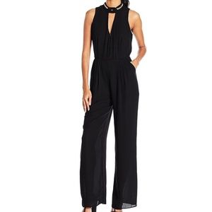 XOXO Juniors Sportswear Sleeveless Black Jumpsuit
